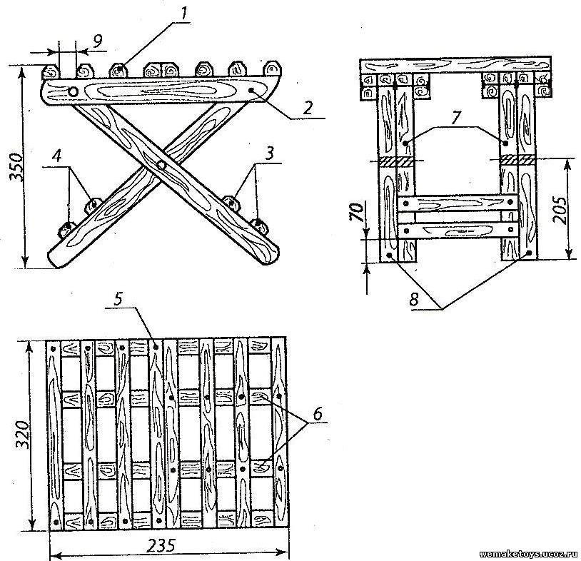 Описание: b>Складные стулья